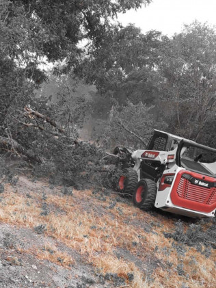 land clearing in Kerrville or Boerne, TX